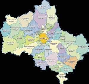 Глубины бурение скважин в Московской области